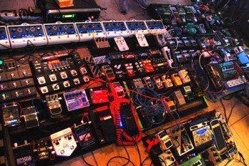 pedal board chainage d'effet pour guitare en cascade