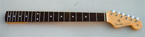 Reconnaitre les manches de Stratocaster et Telecaster Fender
